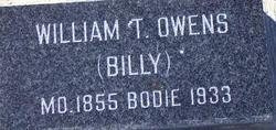 William (Billy)  T. Owens