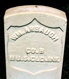 Pvt William Arbaugh
