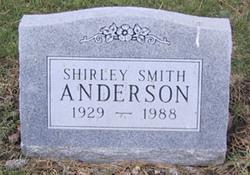 Shirley Glendyn <I>Smith</I> Anderson