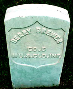 Pvt Alfred Berry Brewer