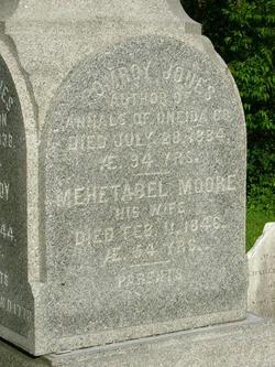 Mehetebel <I>Moore</I> Jones