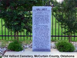 Valliant Uptown Cemetery