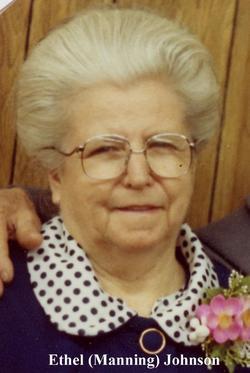 Ethel Eloise <I>Manning</I> Johnson