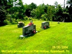 McCarty Private Cemetery