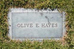 Olive E. <I>Ireland</I> Hayes