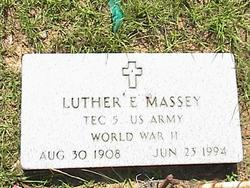 Luther E. Massey