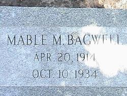 Mable <I>Massey</I> Bagwell