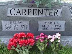 Martha Mabra <I>Warren</I> Carpenter