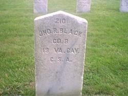 Pvt John R. Black