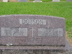 Rev Moses Harvey Dotson