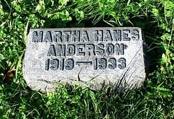 Martha Hanes Anderson
