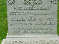 Callie Ola <I>Peddy</I> McGaughey