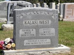 "Lucy L. ""Dolly"" <I>Kalas</I> West"