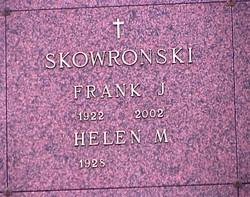 """Frank J. """"Skip"""" Skowronski"""