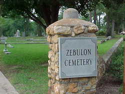 Zebulon Town Cemetery