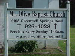 Mount Olive Baptist Church Cemetery