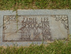 Zadie Lee <I>Laird</I> Scroggins