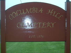 Columbia Hill Cemetery