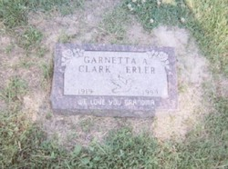 Garnetta A. <I>Clark</I> Erler
