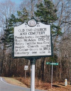 Eno Presbyterian Cemetery (old)