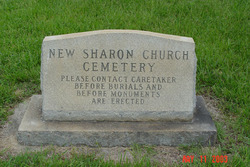 New Sharon United Methodist Church Cemetery