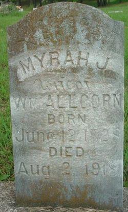 Myrah Jones <I>Parks</I> Allcorn