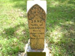 Jane <I>Reynolds</I> Garoutte