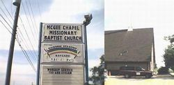 McGee Chapel Missionary Baptist Church Cemetery