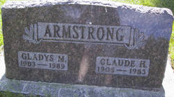 Claude H Armstrong