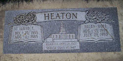 Lloyd E Heaton