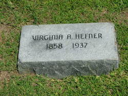 Virginia Adaline <I>Biggerstaff</I> Hefner