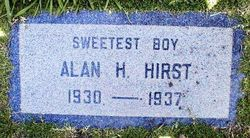 Alan Howard Hirst