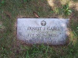 PVT Ernest Joseph Gabel