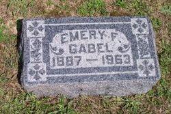 Emery F Gabel