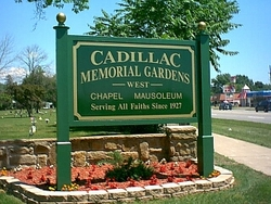 cadillac memorial gardens west in westland michigan find a grave cemetery