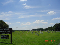Friendship Presbyterian Church Cemetery