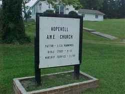 Hopewell A.M.E. Church Cemetery