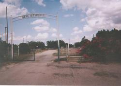 Hahl Memorial Cemetery