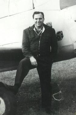 """Pvt George Daniel """"Flying Greek"""" Mikedis"""