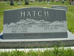 LaVern <I>Taylor</I> Hatch
