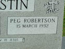 Peg <I>Robertson</I> Austin