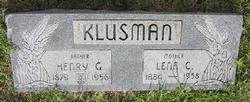 Lena C <I>Funke</I> Klusman