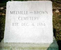 Melville - Brown Cemetery