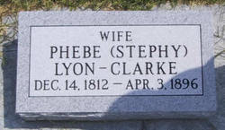 Phebe Philopena <I>Stephy</I> Lyon Clarke