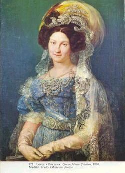 Maria Christina De Borbon-Dos Sicilias