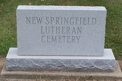 New Springfield Lutheran Cemetery