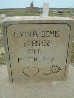 Lydia <I>Shugart</I> Bemis
