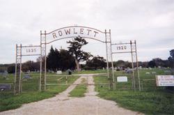 Rowlett Creek Cemetery