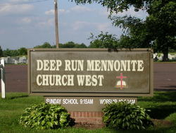 Deep Run Mennonite Church West Cemetery