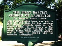 First Baptist Church of Laurelton Cemetery